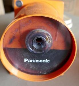Panasonic Kp 22a Pana Point Mid century Orange Electric Pencil Sharpener