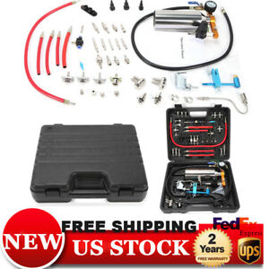 Non dismantle Fuel Injector Cleaner Tester System Tool Durable For Petrol Efi