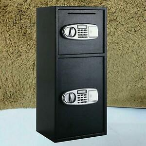 30 5 large Digital Electronic Safe Box Keypad Lock Security Home Office Durable