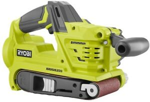 Ryobi Belt Sander 18V Lithium-ion Cordless Brushless Lock-on Switch (Tool Only)