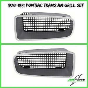 Oer 479690 91 1970 1971 Pontiac Firebird Trans Am Grill Set