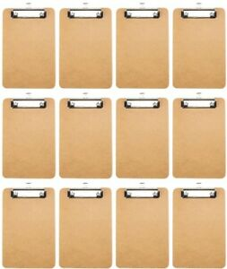 6 X 9 Memo Size Low profile Clipboards With Rubber Grips By Lansky Office