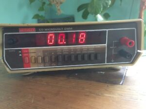 Keithley 177 Microvolt Dmm Digital Multimeter