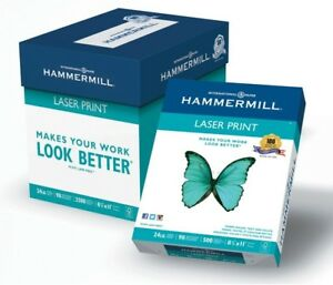 Hammermill Paper Laser Print Poly Wrap 24lb 8 5 X 11 Letter 98 Bright In