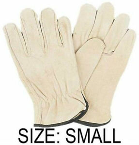 Men s Size Small Unlined Leather Driving Gloves