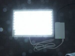 12 5 X 8 5 Super bright 500 Led Panel 24 Volt 37 Watt With Power Supply