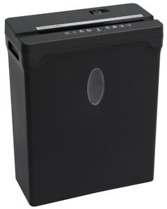 Sentinel 12 sheet High Security Cross cut Paper credit Card Shredder With 2 5 Ga