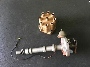 Gm Chevrolet Point Type Distributor 1112097 With June 19 1974 Date Code