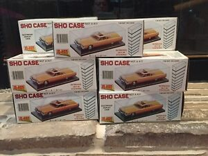 Eleven Sho Cases Interlocking Sky hi Stacking Display Cases