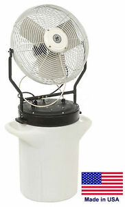 Misting Fan Commercial Self Contained 18 5750 Cfm 120v 1 8 Hp Osha