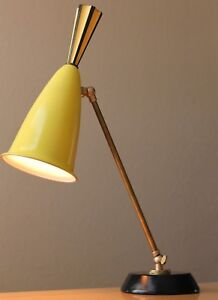 French Articulating Desk Lamp Rare Find Pierre Guariche Mid Century Modern