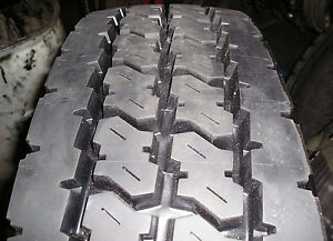 4 Tires Retreads 11r24 5 Power Trac Recap Truck Tire 11 24 5 Radial 11245