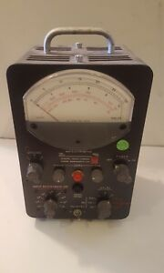 Dc Amplifier And Electrometer General Radio Company 1230a