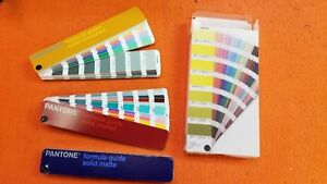 Pantone Color Formula Guide 3 Guides solid Coated solid Uncoated And Solid Matte
