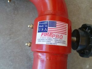 Fire Pro Nozzles Monitor Deck Gun Firefighting 3 Single Waterway Monitor