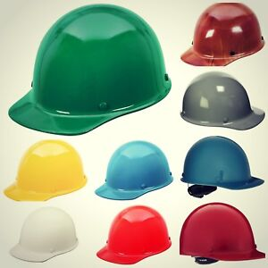 Protective Hard Hat W Front Brim 2200v Dielectric Protection Skullgard Helmets