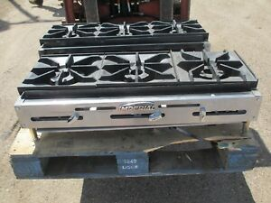 Imperial Ihpa 3 36 Gas 3 Burner Hotplate Hot Plate Commercial Restaurant Range