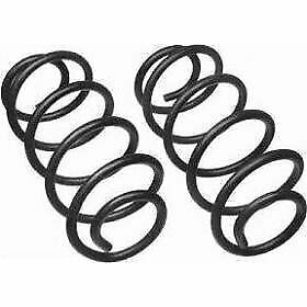 Moog Set Of 2 Coil Springs Rear New For Chevy Olds Coupe Sedan Grand 6321