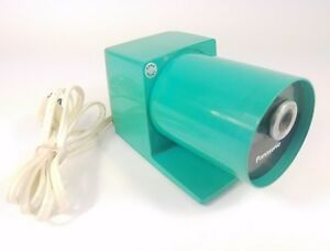 Panasonic Pana Point Aqua Blue Kp 22a Electric Pencil Sharpener Vintage 1970 s