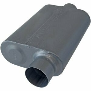 Flowmaster 8043041 Muffler 40 Series 3 Inlet 3 Outlet Stainless Steel
