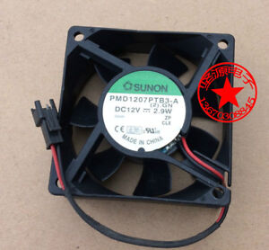 For 1pc Sunon Pmd1207ptb3 a Fan 12v 2 9w 2pin