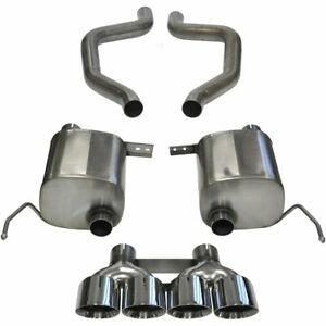 Corsa Exhaust System New For Chevy Coupe Chevrolet Corvette 2015 2019 14766