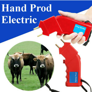 Us Electric Hand Prod Cattle Shock Goat Cattle Power Drive Animals Pig Prodder