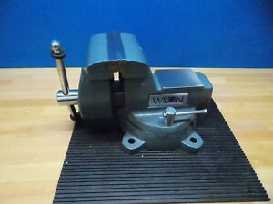 Wilton Swivel Mechanic s Vise 6 Jaw Width 5 3 4 Jaw Opening Cap Model 21500
