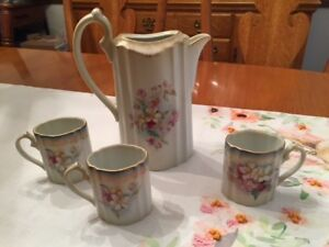 Rs Suhl Prussia Vintage Teapot Cups