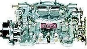 Edelbrock 1406 Carburetor Performer 600 Cfm Electric Choke
