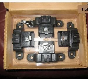 Ford Truck 4 Box Link Cleat Tie Down Cleats W Keys