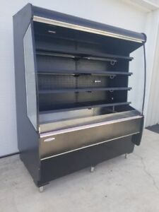 Federal Self Contained Used Grab N Go Display Case Refrigerated Cooler Open Air