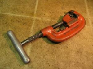 Ridgid No 42a 4 Wheel Pipe Cutter 3 4 2