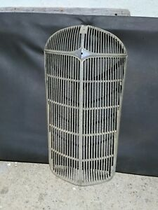 1936 Chrysler Grill Original Nice Extremely Rare