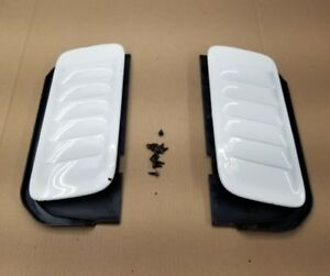 Hood Vents 5 9 1998 Jeep Grand Cherokee Limited Edition Drain Pans Heat Release