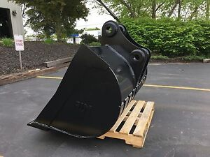 New 60 Ed150 Ditch Cleaning Bucket With Coupler Pins