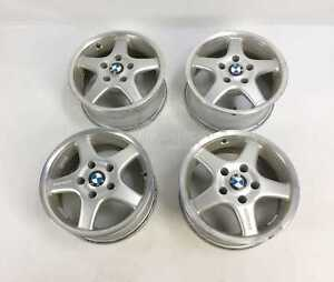 Bmw E39 E34 E32 Borbet 15 Wheels Rims Set 528i 525i 535i 530i 540i 750il