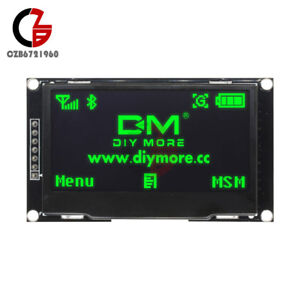 New 2 42 Inch Green Oled Display Ssd1309 128x64 Spi iic Serial Port For Arduino