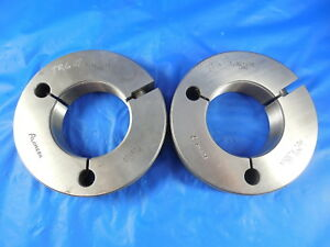 1 967 18 Uns Thread Ring Gages 1 9670 Go No Go P d s 1 9309 1 9264 Tooling