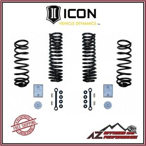 Icon 3 Suspension System Lift Components For 2007 2018 Jeep Wrangler Jk 22500