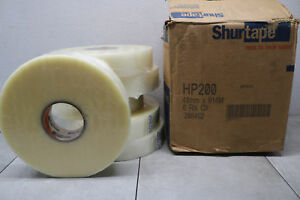Shurtape Hp200 Clear 48mm X 914mm 2 X 1000yd 208492 Machine Packing Tape