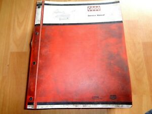 Case 770 870 970 1070 1175 1270 1370 Tractor Factory Service Manual Oem