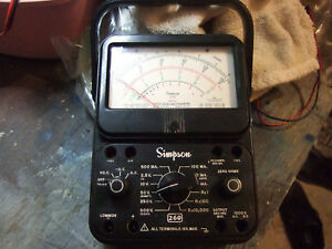 Simpson 260 Multimeter