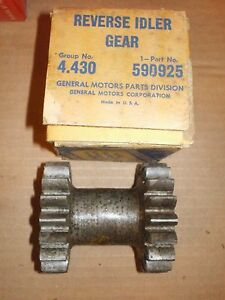 Nos 1937 39 Chevrolet 3 Speed Transmission Reverse Idler Gear 590925 4 430 Gm