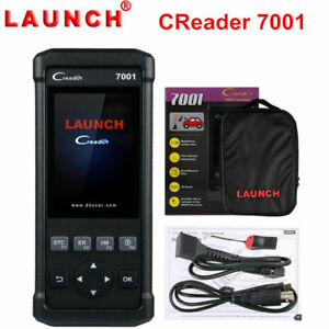 Launch Cr7001f Automotive Scanner Oil Epb Sas Dpf Bms Reset Diagnostic Scan Tool