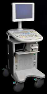 Fukuda Denshi Uf 850xtd Mobile Diagnostic Full Digital Ultrasound Imaging System