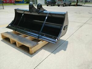 New 48 Ditch Cleaning Bucket For A Caterpillar 303 5cr