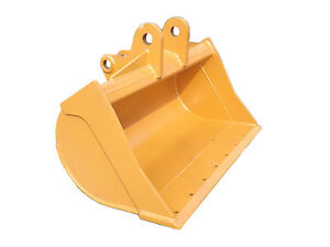 New 48 Case 580k Ditch Cleaning Bucket With Coupler Pins