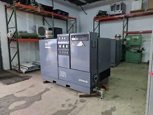 Atlas Copco Oil Free Air Compressor Model Zr3 100 Hp 2596 Hours Works Great