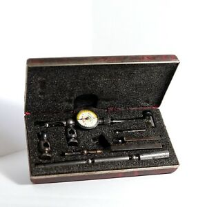 Starrett Last Word Dial Test Indicator No 711 With Case Accessories